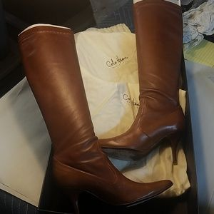 Cole Haan Shoes - Cole haan stretch leather boots